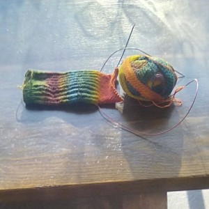crazy zauberball sock
